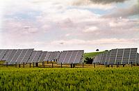 Filottrano (Ancona). Pannelli fotovoltaici --- Filottrano (Ancona). Photovoltaic panels