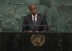 72 General Debate – 20 September <br /> <br /> His Excellency Jovenel Moise, President of the Republic of Haiti
