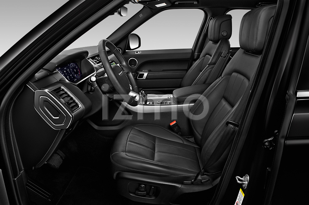 Front seat view of 2020 Land Rover Range-Rover-Sport HSE-PHEV 5 Door SUV Front Seat  car photos