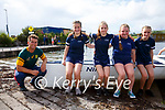 The Portmagee U14 girls crew of El Nino in first position at the Sive Regatta in Cahersiveen pictured l-r; David Hussey(cox), Breda Marie Kelly, Keelin O'Shea, Katelynn Kelly & Rihanna Kelly.