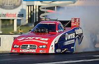 May 4, 2012; Commerce, GA, USA: NHRA funny car driver Johnny Gray during qualifying for the Southern Nationals at Atlanta Dragway. Mandatory Credit: Mark J. Rebilas-