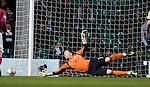 Arbroath keeper Scott Morrison tips away a shot