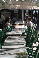 cafe on avenida da liberdade lisbon portugal