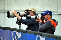 Photographers shoot the One Day International cricket match between the New Zealand Black Caps and South Africa Proteas at Westpac Stadium in Wellington, New Zealand on Saturday, 25 February 2017. Photo: Dave Lintott / lintottphoto.co.nz