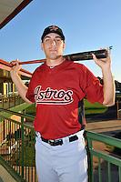 Feb 25, 2010; Kissimmee, FL, USA; The Houston Astros catcher Jason Castro (15) during photoday at Osceola County Stadium. Mandatory Credit: Tomasso De Rosa/ Four Seam Images