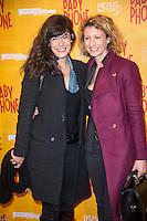 Melanie Doutey et Alexandra Lamy ‡ l'avant premiËre du film BABY PHONE ‡ l'UGC Normandie ‡ Paris le 20 fÈvrier 2017 # PREMIERE DU FILM 'BABY PHONE' A PARIS