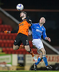 St Johnstone v Dundee United...27.12.14   SPFL<br /> Nadir Ciftci and Steven Anderson<br /> Picture by Graeme Hart.<br /> Copyright Perthshire Picture Agency<br /> Tel: 01738 623350  Mobile: 07990 594431