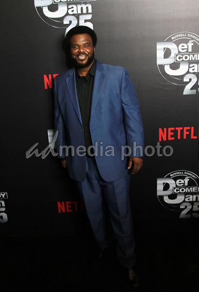 "10 September 2017 - Beverly Hills, California - Craig Robinson. Netflix ""Def Comedy Jam 25"" held at The Beverly Hilton. Photo Credit: Theresa Bouche/AdMedia"