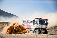 6th January 2021; Wadi Al Dawasir to Riyadh, Saudia Arabia; Dakar 2021 Rally, stage 4;  514 Soltys Martin (cze), Schovanek David (cze), Sikola Tomas (cze), Tatra, Tatra Buggyra Racing, Camion, Truck, action during the 4th stage of the Dakar 2021 between Wadi Al Dawasir and Riyadh, in Saudi Arabia on January 6, 2021