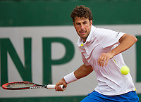 France, Paris, 28.05.2014. Tennis, French Open, Roland Garros, Robin Haase (NED)<br /> Photo:Tennisimages/Henk Koster