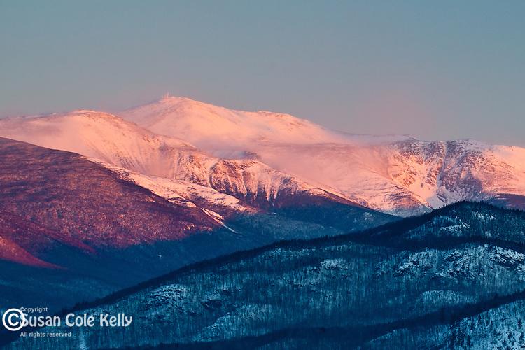 Mount Washington in Pinkham Notch, White Mountain National Forest, NH, USA