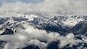 The Glockturmkamm, the westernmost ridge of the Otztal Alps. Nordtirol, Austrian Alps. June.