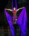 Lisa of Sedona Silks Aerial Dance Troupe