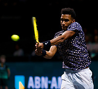 Rotterdam, The Netherlands, 15 Februari 2020, ABNAMRO World Tennis Tournament, Ahoy, Felix Auger-Aliassime (CAN).<br /> Photo: www.tennisimages.com