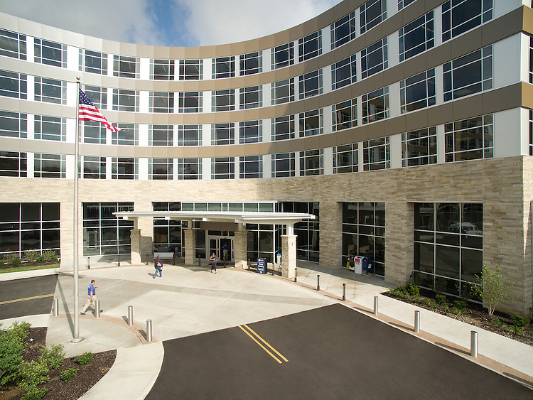 Fairfield Medical Center Inpatient Surgery Tower Aerial Photography   Design Group