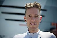 Koen de Kort (NLD) got a Kittel haircut after losing a bet with him<br /> <br /> Tour de France 2013<br /> stage 16: Vaison-la-Romaine to Gap, 168km