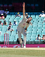 11th January 2021; Sydney Cricket Ground, Sydney, New South Wales, Australia; International Test Cricket, Third Test Day Five, Australia versus India; Josh Hazlewood of Australia bowling