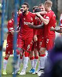 22.09.2019 St Johnstone v Rangers: Connor Goldson celebrates his goal