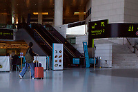 LISBON, PORTUGAL - June 7: A general view of an almost empty airport in Lisbon, on June X, 2021. <br /> Tourists anticipated trips from Lisbon to the U.K. They decided to return early so they wouldn't have to quarantine. since the new rules were announced for those traveling from Portugal to the UK. <br /> (Photo by Luis Boza/VIEWpress)