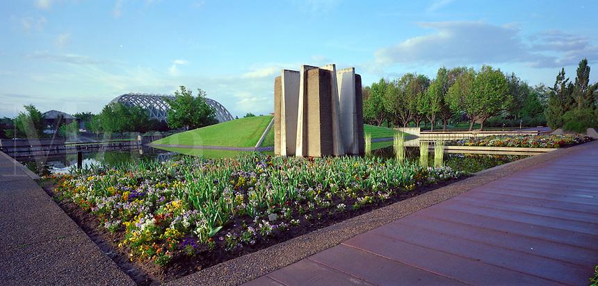 Denver Botanical Garden. Denver Colorado United States.