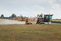 13.7.2021 Desiccating oilseed rape in Rutland <br /> ©Tim Scrivener Photographer 07850 303986<br />      ....Covering Agriculture In The UK....