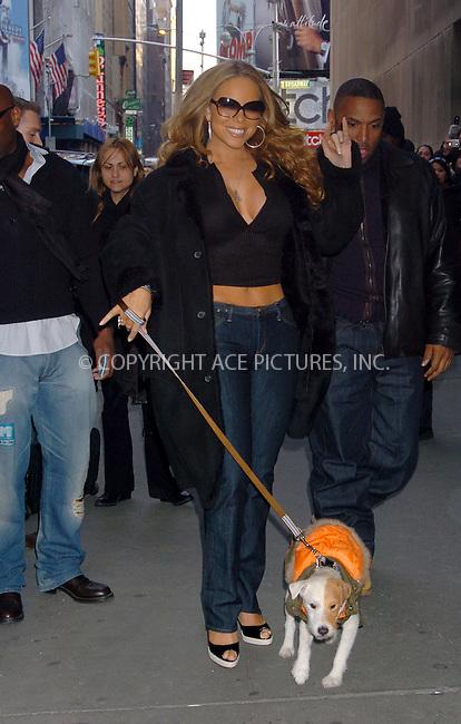 WWW.ACEPIXS.COM . . . . .  ....NEW YORK, FEBRUARY 21, 2006....Mariah Carey at the MTV TRL Awards - Arrivals....Please byline: AJ Sokalner - ACEPIXS.COM.... *** ***..Ace Pictures, Inc:  ..Philip Vaughan (212) 243-8787 or (646) 769 0430..e-mail: info@acepixs.com..web: http://www.acepixs.com