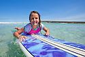 My daughter Jessie at beach