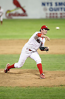 July 8th, 2007:  Josh Dew of the Batavia Muckdogs, Short-Season Class-A affiliate of the St. Louis Cardinals at Dwyer Stadium in Batavia, NY.  Photo by:  Mike Janes/Four Seam Images