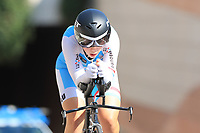 9th September 2021; Trento, Trentino–Alto Adige, Italy: 2021 UEC Road European Cycling Championships, Womens Individual time trials:  FABER Claire (LUX)