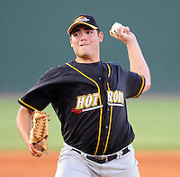 Sept. 3, 2009: LHP Matt Moore of the Bowling Green Hot Rods at Fluor Field at the West End in Greenville, S.C., Sept. 3, 2009. Photo by Tom Priddy/FourSeam Images