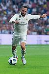 Real Madrid Daniel Carvajal during Santiago Bernabeu Trophy match at Santiago Bernabeu Stadium in Madrid, Spain. August 11, 2018. (ALTERPHOTOS/Borja B.Hojas)