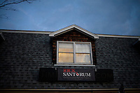 An exterior view of the Rick Santorum New Hampshire campaign headquarters in Bedford, New Hampshire, on Jan. 7, 2012.  Santorum is seeking the 2012 Republican presidential nomination.