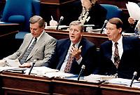 Mike Harris<br /> <br /> Photo : Boris Spremo - Toronto Star archives - AQP