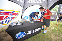 Sponsors activation at the celebration pre- game, during and international friendly commemorating the centennial celebration for U.S. Soccer, at RFK Stadium, Sunday July 2 , 2013.