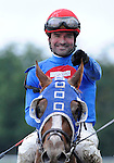 09 August 29: Summer Bird  (no. 6), ridden by Kent Desormeaux and trained by Tim Ice, wins the 140th running of the grade 1Travers Stakes for three year olds at Saratoga Race Track in Saratoga Springs, New York.