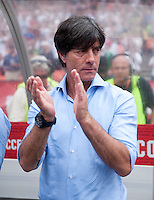 Joachim Loew.  The USMNT defeated Germany, 4-3, in a friendly match held at RFK Stadium in Washington, DC.