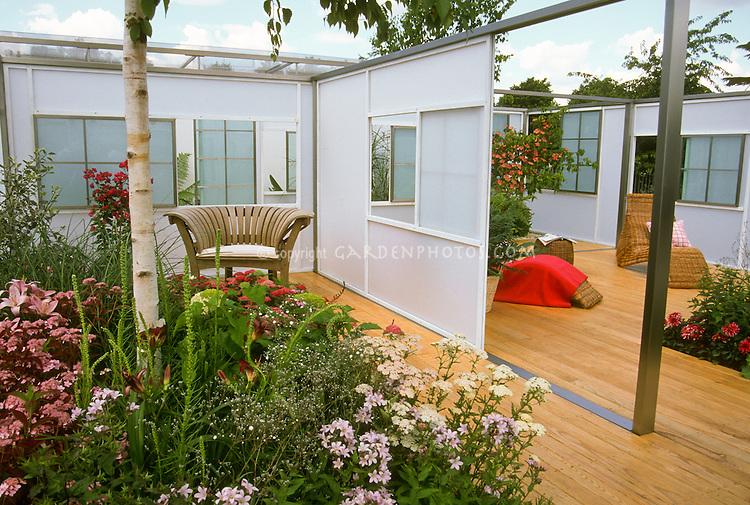 Deck & Garden designed for a woman