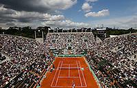 Tenis, Roland Garros 2011.Viktor Troicki (SRB) Vs. Andy Murray (GBR).General view of stadium Suzanne Lenglen.Paris, 31.05.2011..foto: Srdjan Stevanovic/Starsportphoto ©