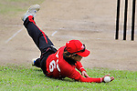 Natural Yip Sze Wan of Hong Kong in action during the ICC 2016 Women's World Cup Asia Qualifier match between  Hong Kong and Nepal on 09 October 2016 at the Tin Kwong Road Cricket Recreation Ground in Hong Kong, China. Photo by Marcio Machado / Power Sport Images