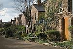 Backview traditional Victorian London terrace houses. Highbury Terrace Mews London N1. UK 2008.