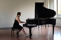RomeSmarts - Rome Summer Musical Arts..Toyich International Projects in collaboration with the University of Toronto, Canada. The pianist Sasha Drozzina.