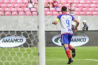 RECIFE, PE, 26.01.19 - SANTA CRUZ-BAHIA - Partida válida pela 2° rodada da copa do Nordeste nesta sábado (26) na arena de Pernambuco. (Foto: Rafael Vieira/Codigo19).