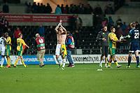 Thursday 24 October 2013  <br /> Pictured: Alvaro Vasquez<br /> Re:UEFA Europa League, Swansea City FC vs Kuban Krasnodar,  at the Liberty Staduim Swansea