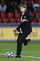 Milena Bartolini coach of Italy during the warm up<br /> Benevento 08-11-2019 Stadio Ciro Vigorito <br /> Football UEFA Women's EURO 2021 <br /> Qualifying round - Group B <br /> Italy - Georgia<br /> Photo Cesare Purini / Insidefoto