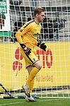 17.10.2020, Schwarzwald Stadion, Freiburg, GER, 1.FBL, SC Freiburg vs SV Werder Bremen<br /><br />im Bild / picture shows<br />Torwart Florian Müller (Freiburg)<br /><br />Foto © nordphoto / Bratic<br /><br />DFL REGULATIONS PROHIBIT ANY USE OF PHOTOGRAPHS AS IMAGE SEQUENCES AND/OR QUASI-VIDEO.