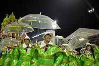 SÃO PAULO, SP, 08.03.2019 - CARNAVAL-SP - Integrante da escola de samba Império de Casa Verde durante Desfile das Campeãs do Carnaval de São Paulo, no Sambódromo do Anhembi em São Paulo, na noite desta sexta-feira, 08. (Foto: Levi Bianco/Brazil Photo Press)