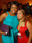 Lacoya Boone and Stefanie Cumanan at the Health Museum Casino Party at the Four Seasons Hotel Saturday Aug. 15, 2009.(Dave Rossman/For the Chronicle)