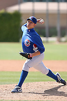 Aaron Shafer, Chicago Cubs 2010 minor league spring training..Photo by:  Bill Mitchell/Four Seam Images.