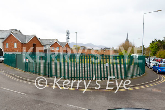 Site on Chapel Lane Killarney where there plans to build 36 apartments