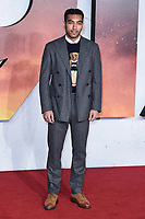"""Nabhaan Rizwan<br /> arriving for the Royal Film Premiere of """"1917"""" in Leicester Square, London.<br /> <br /> ©Ash Knotek  D3543 04/12/2019"""